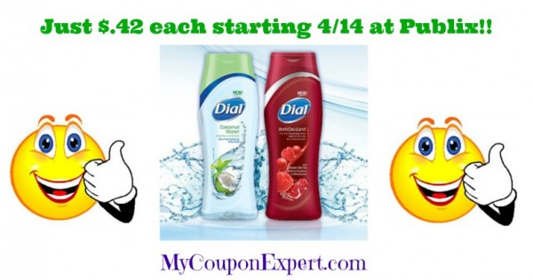 dial body wash publix