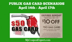 PUBLIX GAS CARD SCENARIOS for April 14th – 17th!!
