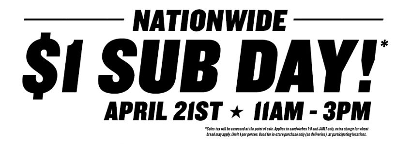 jimmy johns sub day