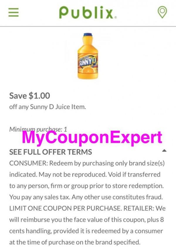 Publix coupons bogo
