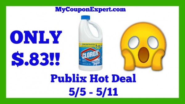 Clorox Bleach Publix Deal