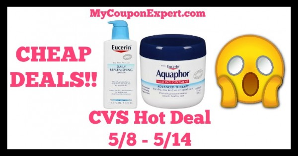 graphic regarding Aquaphor Printable Coupon titled CVS Very hot Bundle Warn!! Inexpensive Discounts upon Eucerin or Aquaphor