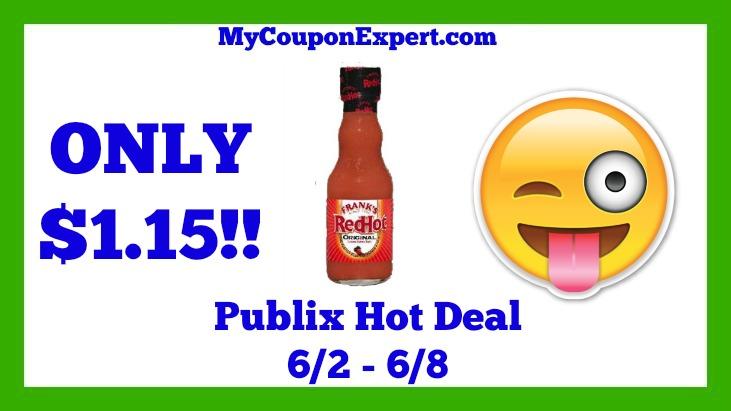 Frank's RedHot Sauce Hot Publix Deal