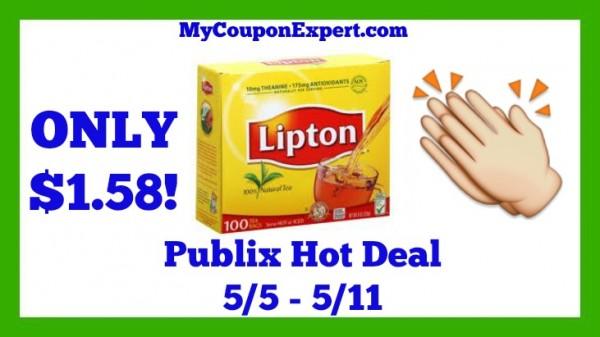 Lipton Tea Bags Publix Deal