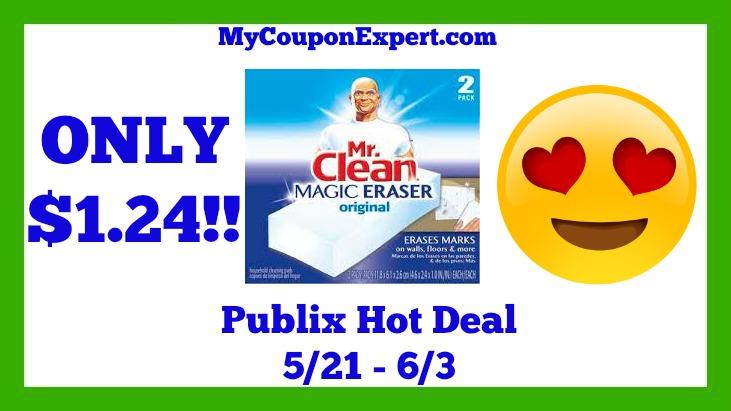 Mr. Clean Hot Publix Deal