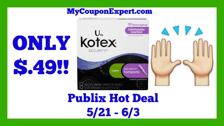 U by Kotex Hot Publix Deal