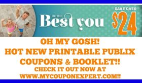 HOT NEW Printable Publix Coupons & Booklet – Be The Best You!