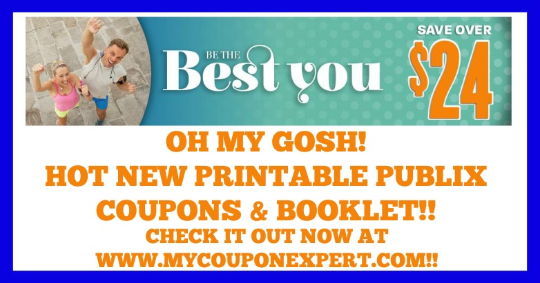 Be The Best You Printable Publix Coupons and Booklet