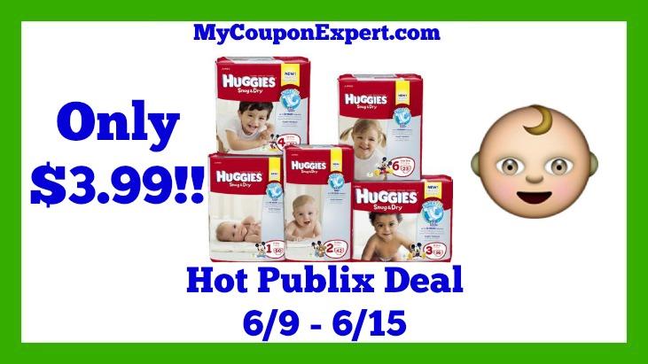 Publix Hot Deal Alert! Huggies Diapers Only $3.99 Starting