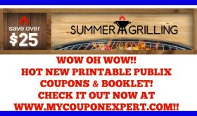 HOT NEW Summer Grilling Printable Publix Coupons & Booklet!!