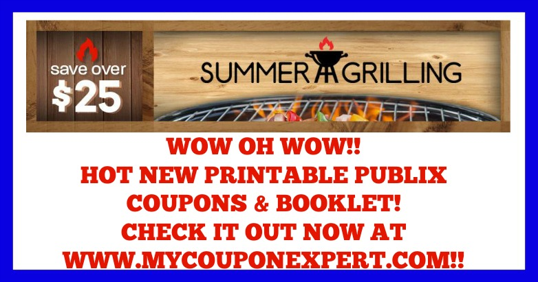 Summer Grilling Publix Printable Coupons and Booklet
