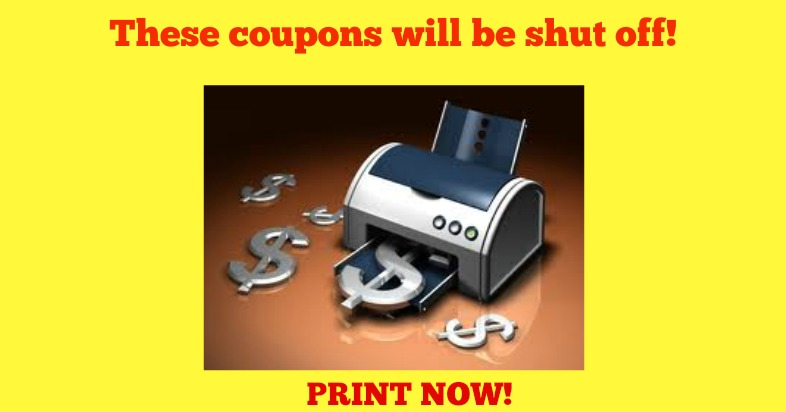 end of month print coupons