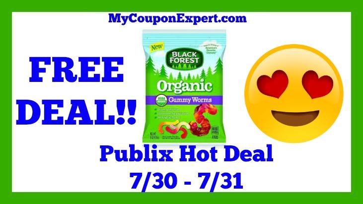 Black Forest Organic Gummies Hot Publix Deal