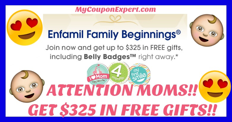 RUN & CHECK THIS OUT!! $325 in FREE GIFTS FROM ENFAMIL!!