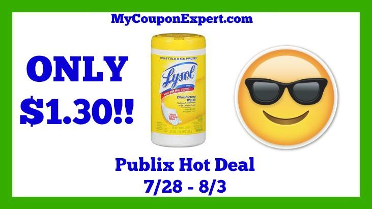 Lysol Hot Publix Deal