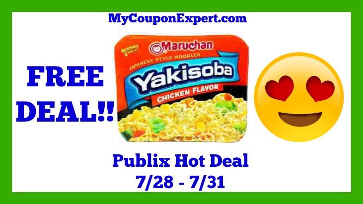 Maruchan Hot Publix Deal