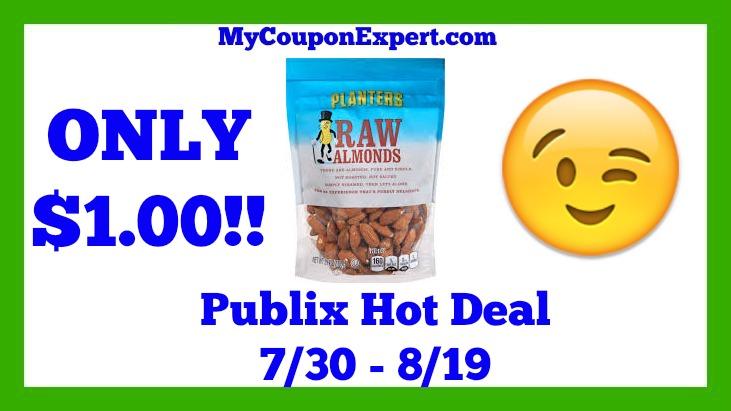 Planters Raw Nuts Hot Publix Deal