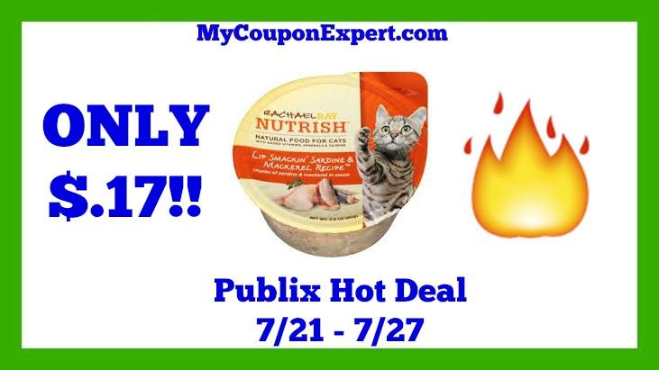 Publix Rachael Ray Cat Food