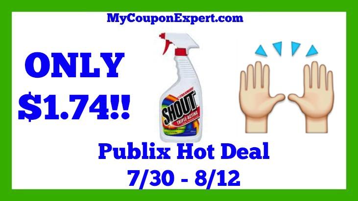Shout Hot Publix Deal