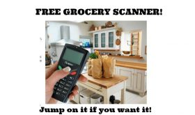 FREE GROCERY SCANNER!!  HURRY if you want it!!
