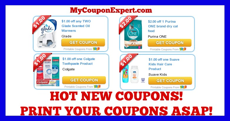image relating to Glade Printable Coupons known as Incredibly hot Clean Printable Coupon codes: Glade, Purina, Colgate, Artful