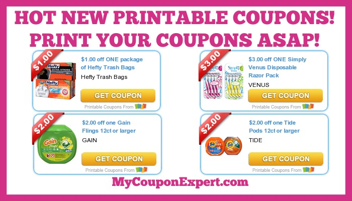 image regarding Almay Coupon Printable titled Sizzling Clean Printable Discount codes: Tide, Profit, Heavy, Venus