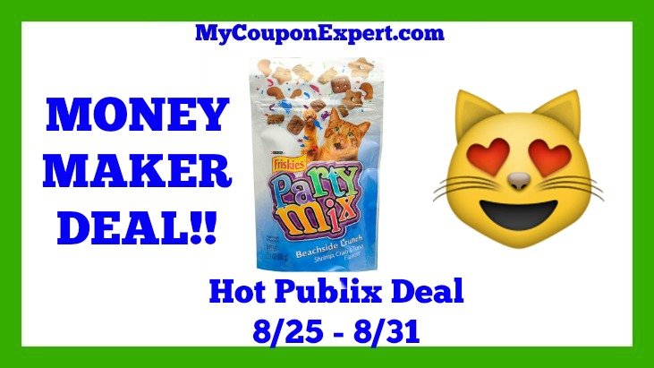 Purina Friskies Party Mix Cat Treats Hot Publix Deal