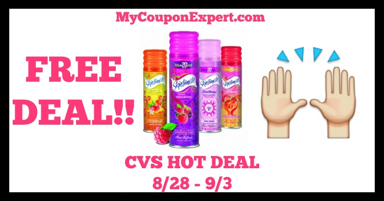 Skintimate Hot CVS Deal