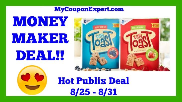 Tiny Toast Cereal Hot Publix Deal