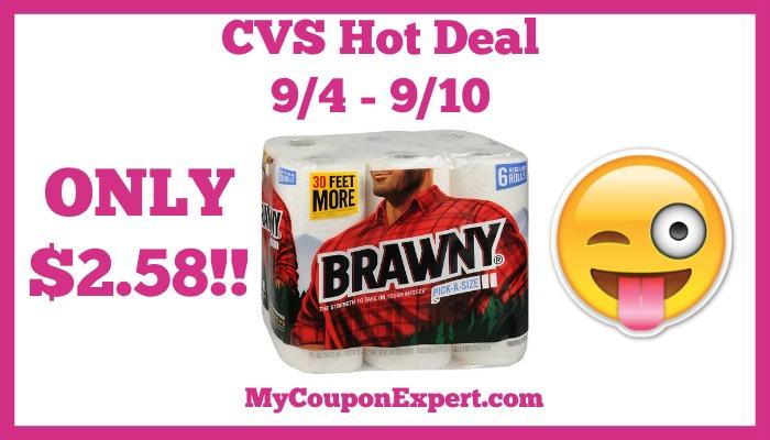 Brawny Hot CVS Deal