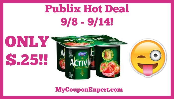 Dannon Activia Yogurt Hot Publix Deal