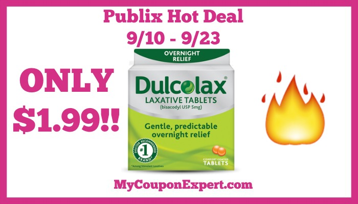 Dulcolax Only 1 99 Starting 9 10 At Publix My Coupon Expert