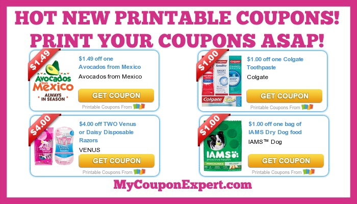 photo regarding Colgate Printable Coupons named Sizzling Clean Printable Coupon codes: Venus, Iams, Colgate, Tide, Financial gain
