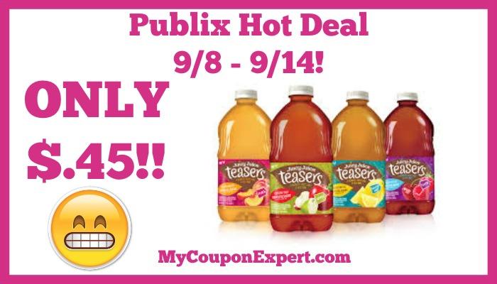 Juicy Juice Hot Publix Deal