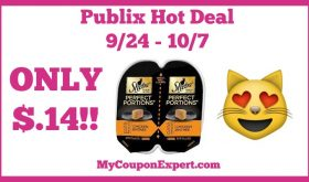 Hot Deal Alert! Sheba Products Only $.14 at Publix from 9/24 – 10/7