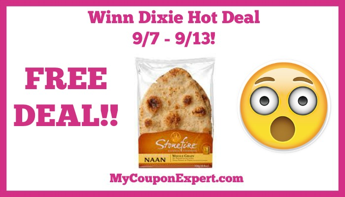 Stonefire Naan Bread Hot Winn Dixie Deal