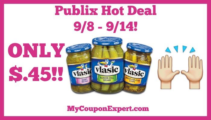 Vlasic Hot Publix Deal