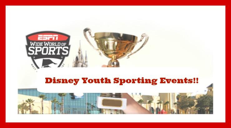 disney sporting events