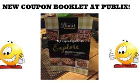 NEW Coupon Booklet at Publix!  Flavor Excursion!!
