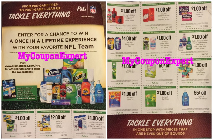 Publix Tackle Everything Flyer Archives - My Coupon Expert