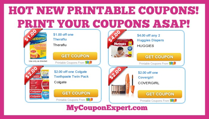 picture regarding Gain Printable Coupons identified as Warm Printable Coupon codes: Tide, Huggies, Profit, Covergirl