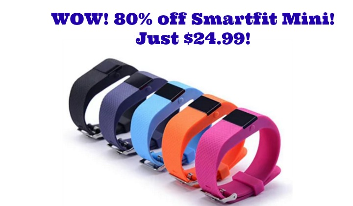 WOW!  Smart Fit Mini Fitness Tracker Watch just $24.99!  Check this out!