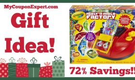 Hot Holiday Gift Idea! Crayola Melt 'N Mold Factory Only $13.85 – 72% Savings!!