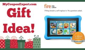 Hot Holiday Gift Idea! Amazon Fire Kids Edition Tablet, 7″ Display Only $74.99 – Rare 25% Discount!!!!