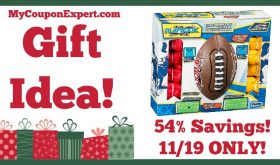 Hot Holiday Gift Idea! Franklin Sports Mini Playbook Flag Football Set Only $15.99 (54% Off, 11/19 ONLY!)