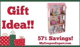 Hot Holiday Gift Idea! KidKraft Penelope Dollhouse Only $56.50 – 57% Savings!