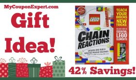 Hot Holiday Gift Idea! Klutz LEGO Chain Reactions Craft Kit Only $12.75 – 42% Savings!