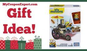 Hot Holiday Gift Idea! Mega Bloks Minions Flying Hot Dogs Only $6.84 – 43% Savings!