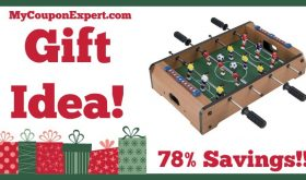 Hot Holiday Gift Idea! Mini Table Top Foosball Only $15.25 – 78% Savings!!