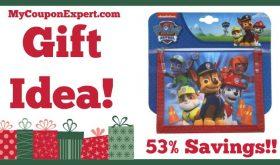 Hot Holiday Gift Idea! Nick Jr Paw Patrol Bifold Wallet Only $5.40 (53% Savings!)